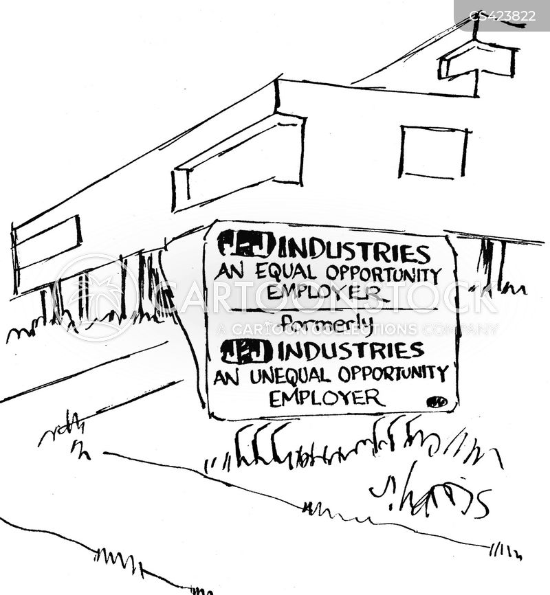 equal opportunity employer cartoon