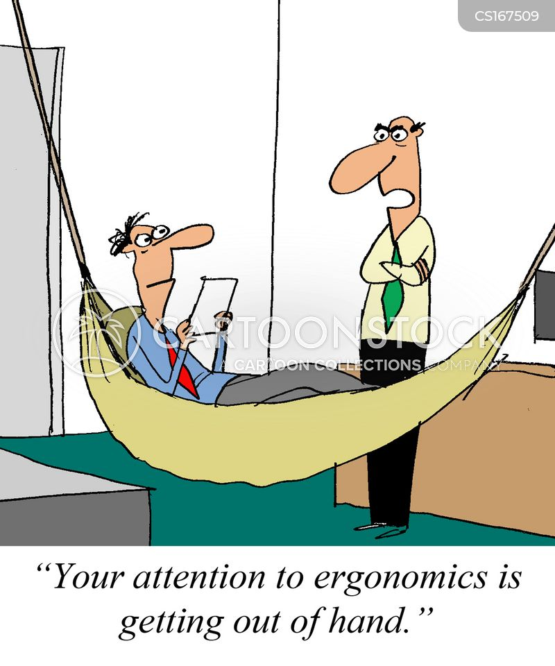 ergonomics cartoon