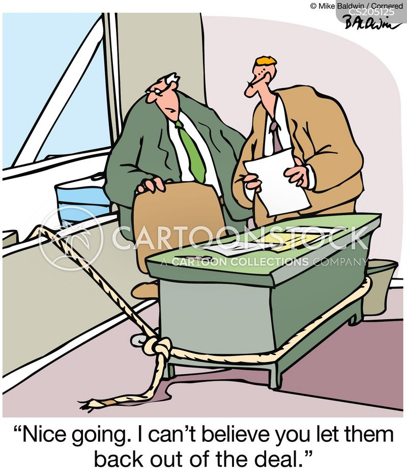 backed-out cartoon