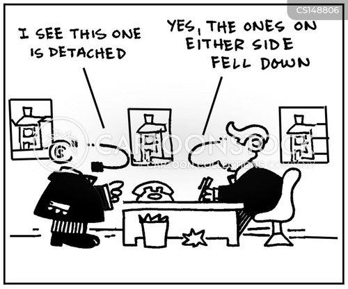 detached house cartoon