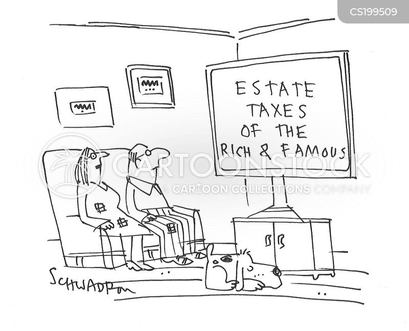 tax breaks cartoon