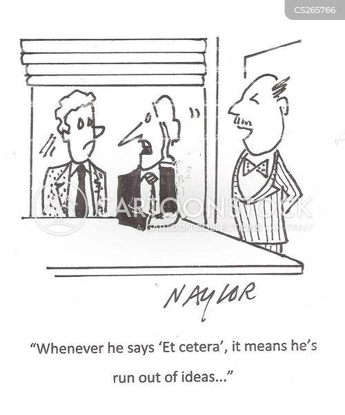 et cetera cartoon
