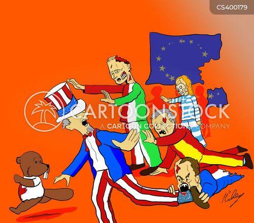 italian crisis cartoon