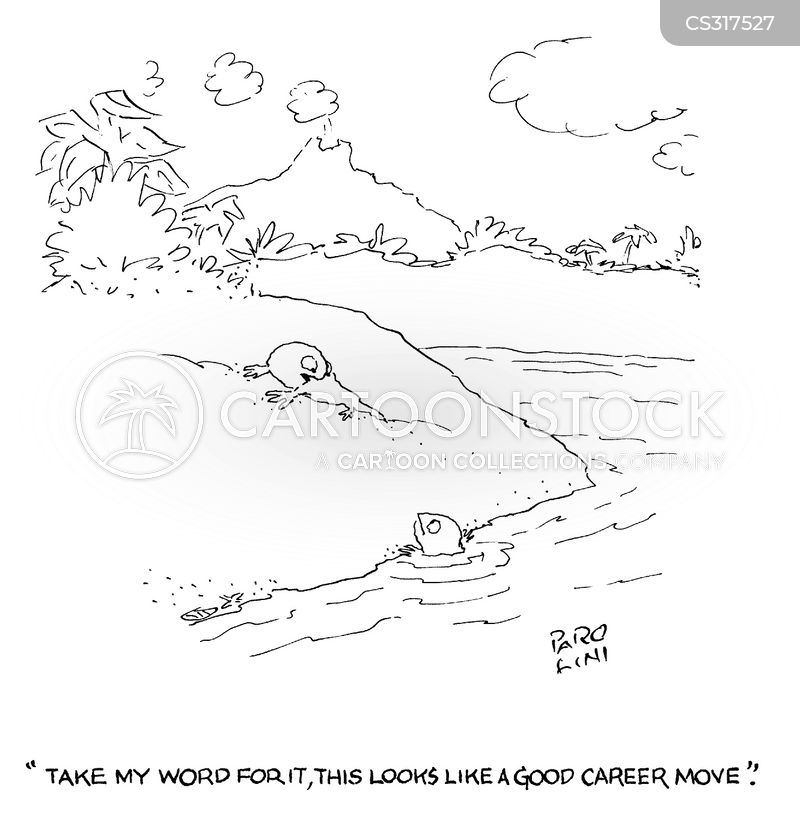 career moves cartoon