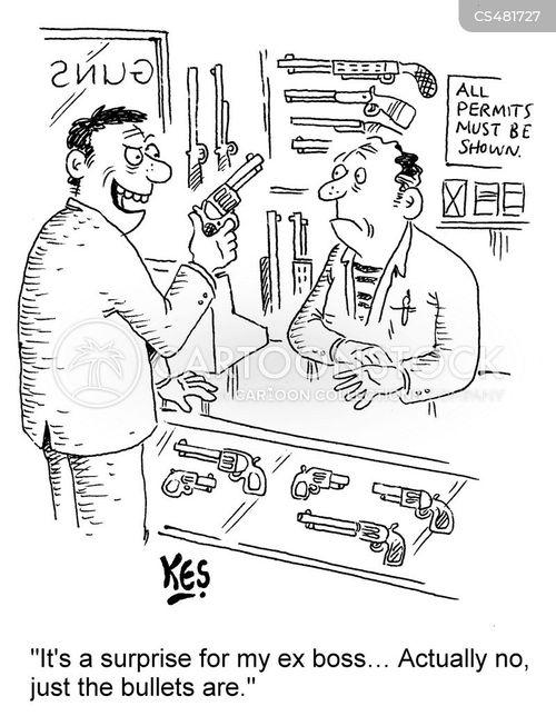 ex employees cartoon