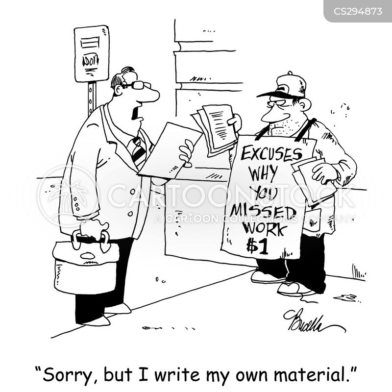 ghost writer cartoon