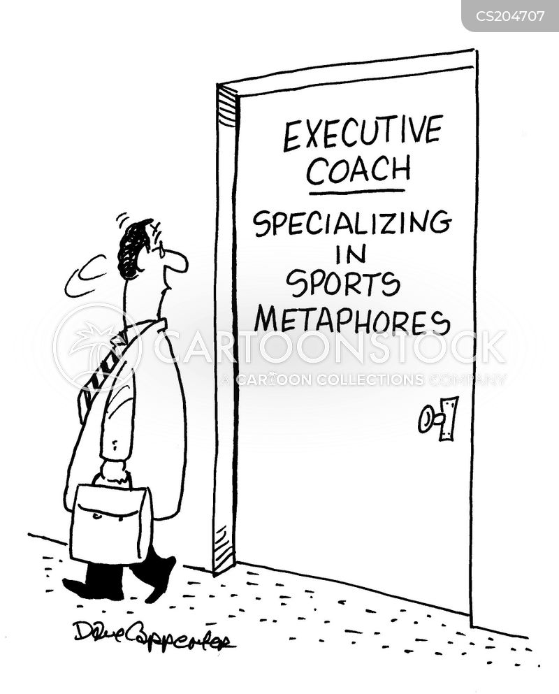 Executive Cartoon: Sport Metaphors Cartoons And Comics