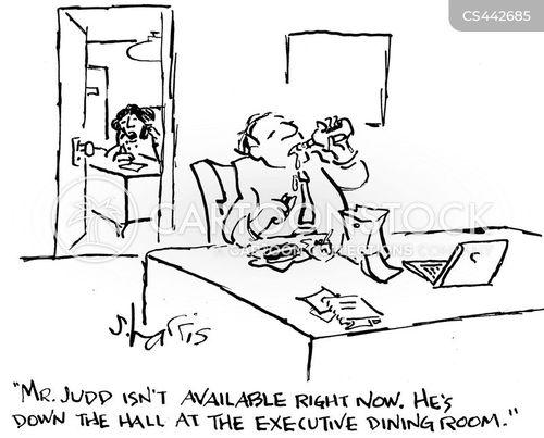executive lounge cartoon