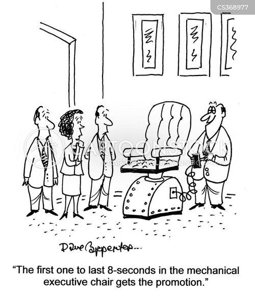 electric chairs cartoon