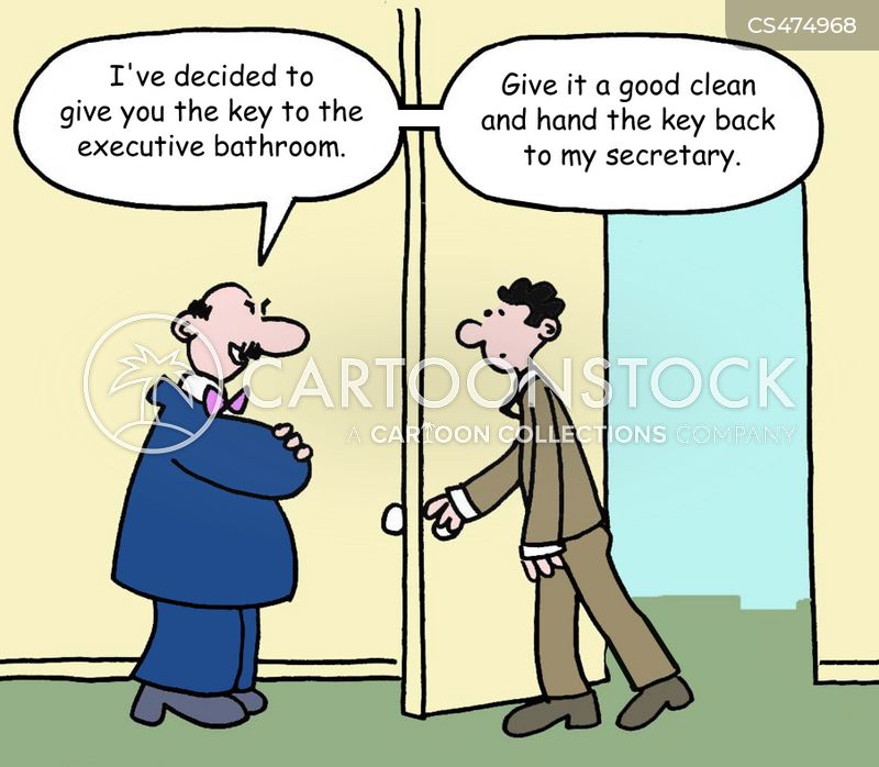 executive perk cartoon