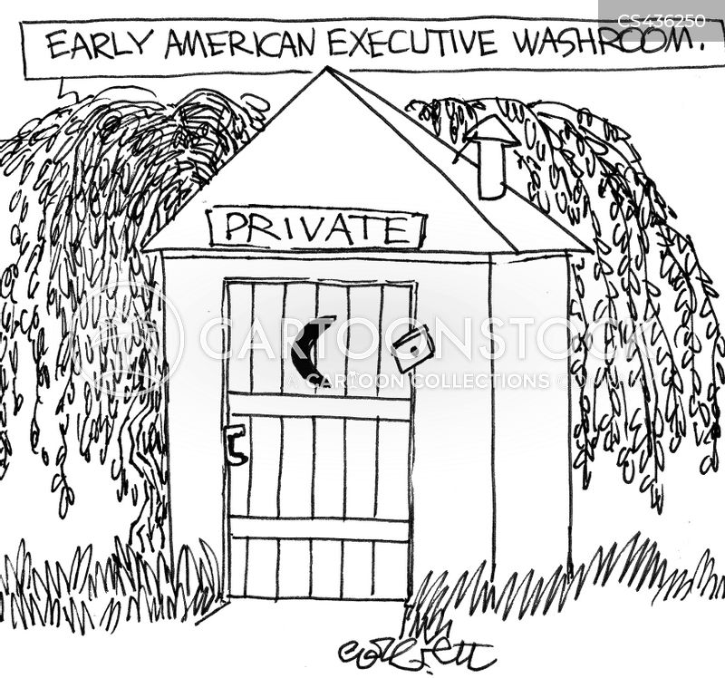 Keat Executive Privilege: Outhouses Cartoons And Comics