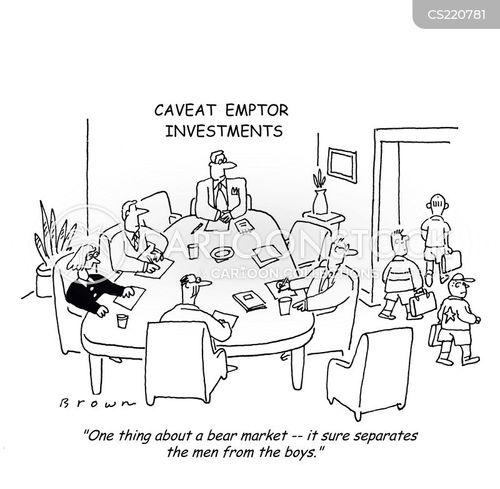 falling prices cartoon
