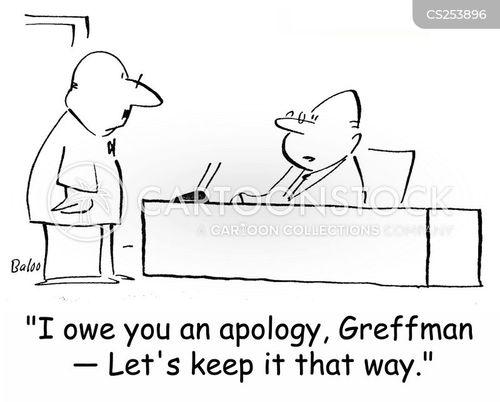 owes cartoon