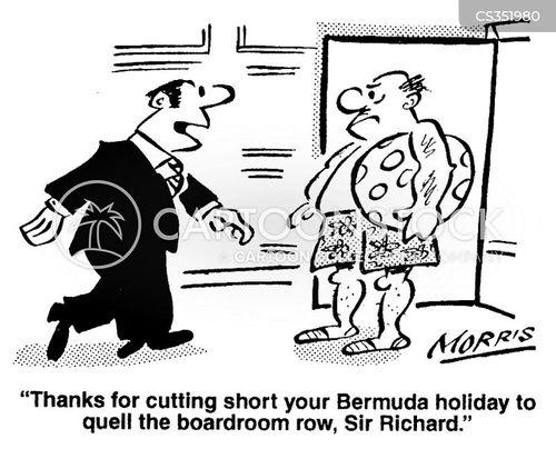 excutive cartoon