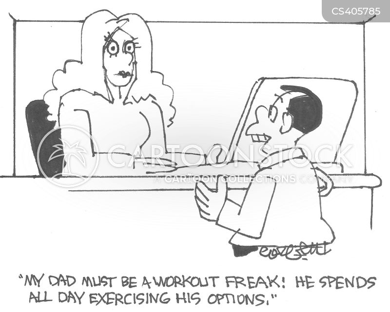 fitness freaks cartoon