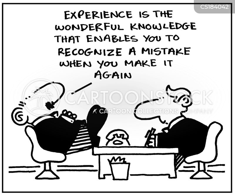 learn from experience cartoon
