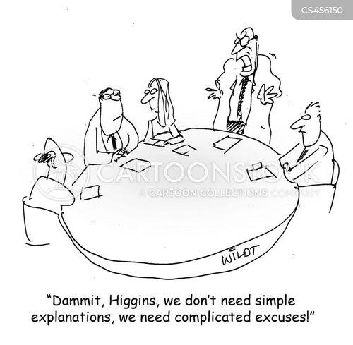 evasion cartoon