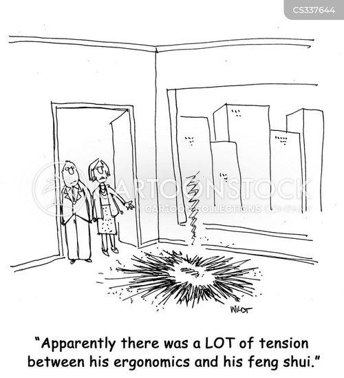 office layout cartoon