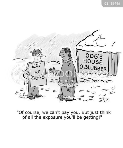 exposures cartoon