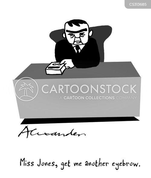 monobrows cartoon