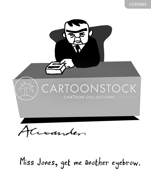 monobrow cartoon