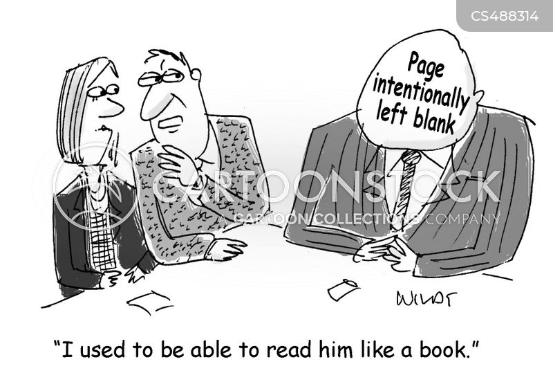 non verbal communication cartoon