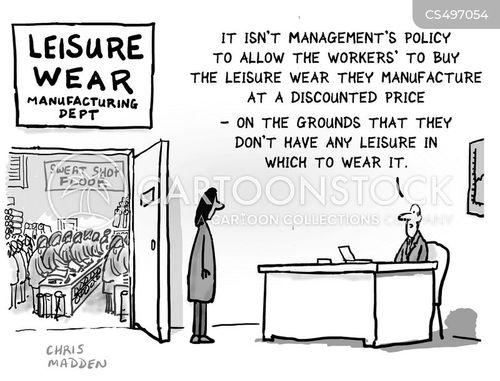 leisurewear cartoon