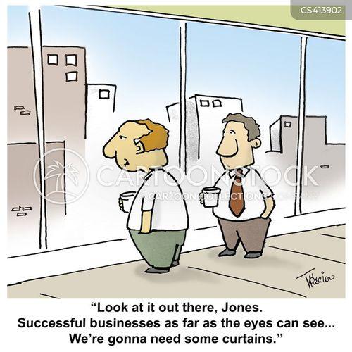 business sector cartoon