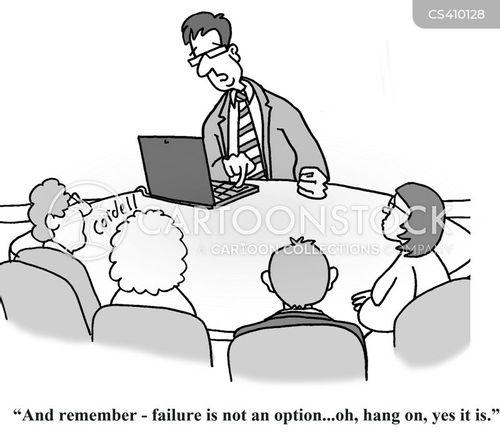 failure is not an option cartoon