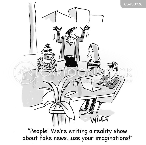 tv producer cartoon