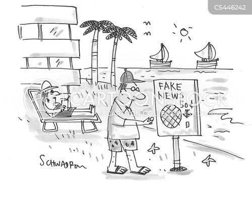 getting away cartoon