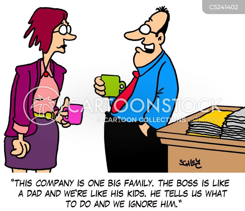 family structure cartoon