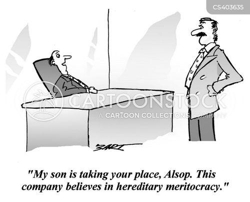 meritocracy cartoon