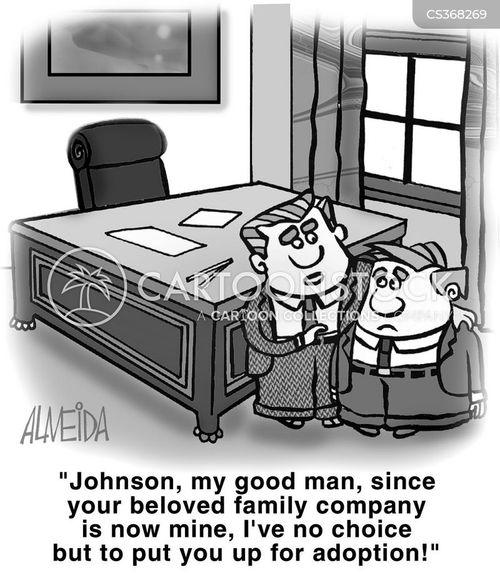 family companies cartoon