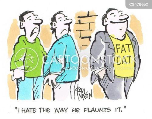 flaunt cartoon
