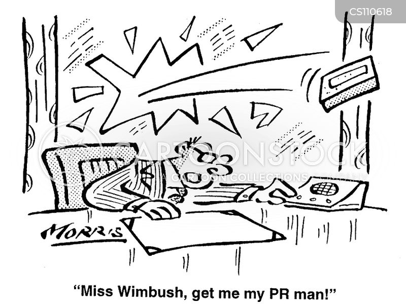 pr men cartoon