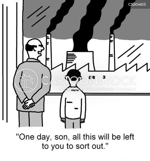 avoiding responsibility cartoon