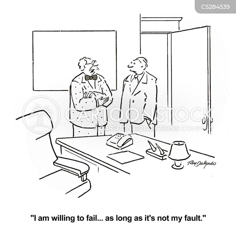 faulting cartoon