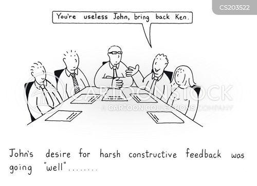 harsh truth cartoon
