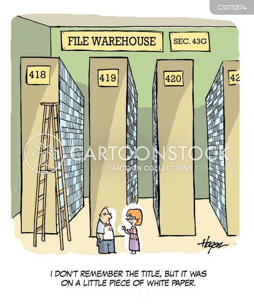 storage cartoon