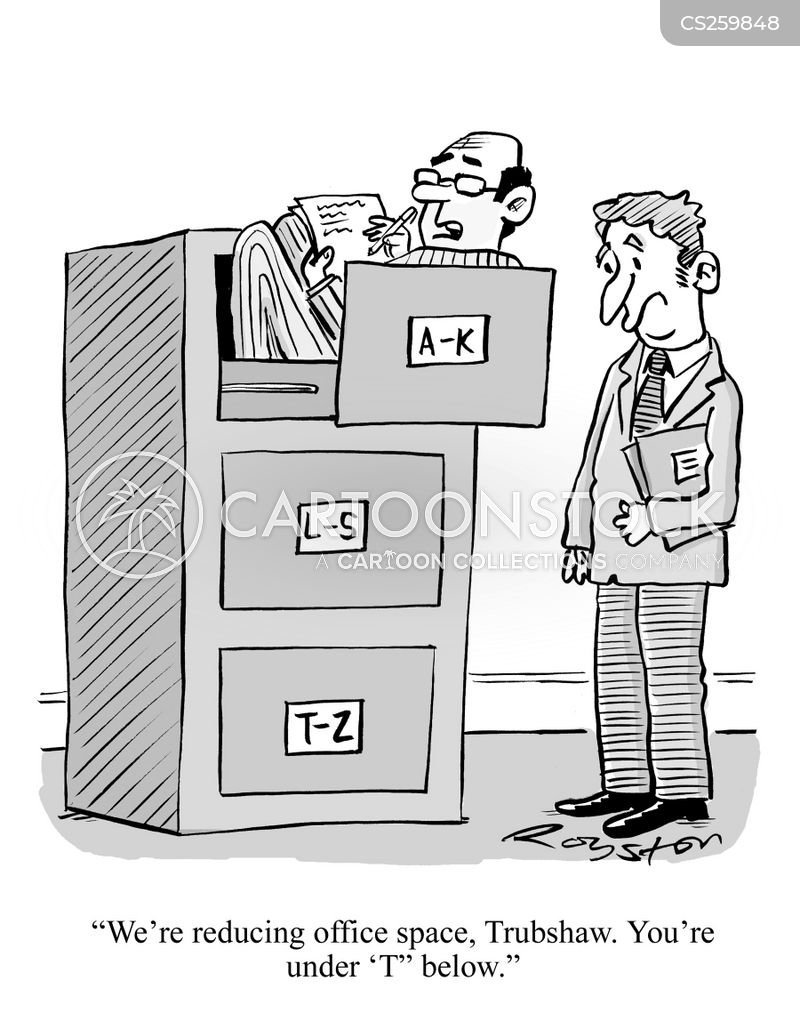Filing Cabinet cartoon 24 of 144  sc 1 st  CartoonStock & Filing Cabinet Cartoons and Comics - funny pictures from CartoonStock