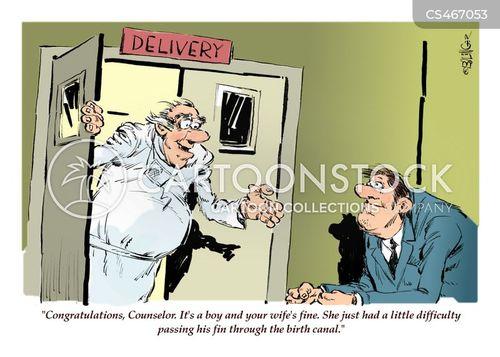 delivery rooms cartoon