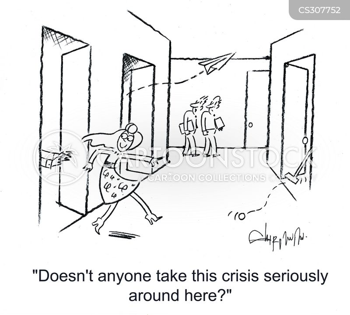 seriously cartoon