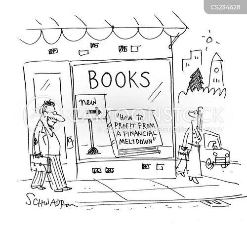 financial meltdown cartoon