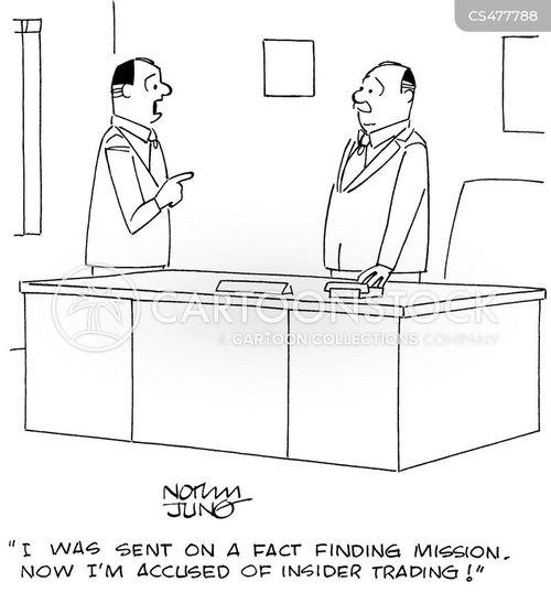 fact finding cartoon