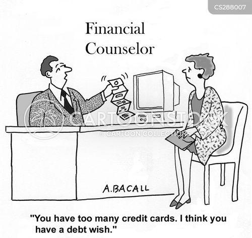 debt counseling cartoon