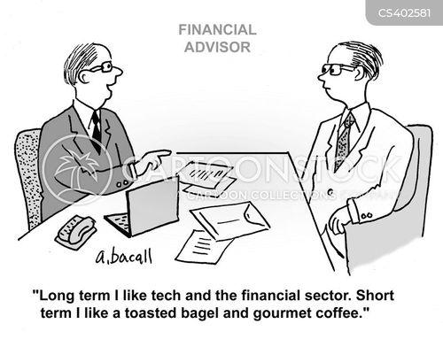 financial tip cartoon