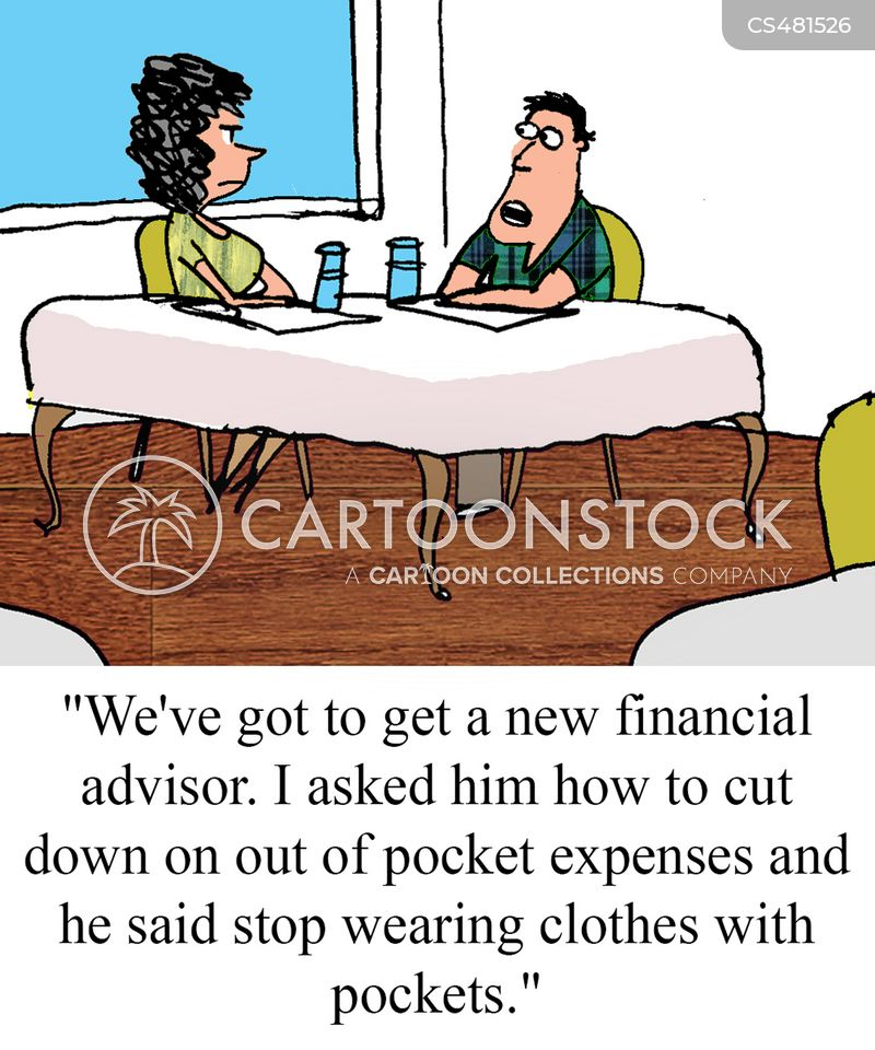 out of pocket cartoon