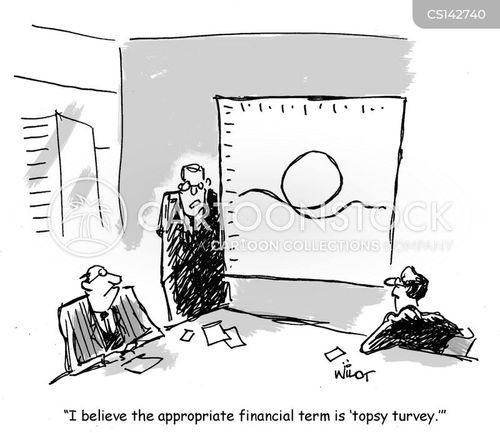 topsy turvey cartoon