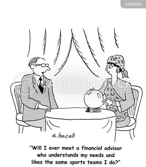 financial needs cartoon